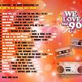 TWC 141 (2012) WE LOVE THE 90s MEGAMIX vol.1 by DJ Crayfish MIX 087