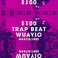 $100 Base De Rap - Trap Beat - Hip Hop Instrumental (2017) Wuayio The Producer