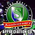 Siblingmusic 2014 Anniversary Appreciation CD
