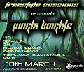 Freestyle Sessions Presents Jungle Knights v.08 - Static 30th march 2013