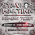 Sticky K - The Weirdo (Stavros Martina & Damian Twilt Moombahton Bootleg)