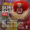 MISTER CEE SURE SHOT MIX APRIL FOOLS DAY EDITION BACKSPIN SIRIUS XM 4/1/17