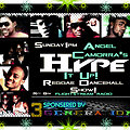 ANGEL CAMORRA'S HYPE IT UP REGGAE & DANCEHALL SHOW 11TH AUGUST 2013