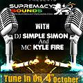 Simple Simon & Mc Fire Kyle  Live On Vibe city radio ( Canada ) Part 1