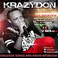 Black and White Wednesdays 2-3-16 PT 2 of 3 - Exclusive Songs & Radio Interview with Krazy Don