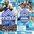 GENERAL THE BLUE & WHITE AFFAIR PROMO CD Mix By (Purple City HD )