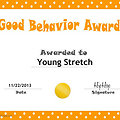 Young Stretch- Best Behavior