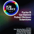 Factor B Live @ Pure Trance Volume 6 @ The Great Northern, San Francisco USA 31-03-2018