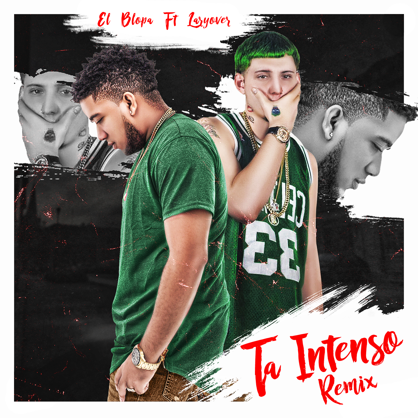 El Blopa Ft Lary Over - Ta Intenso Remix