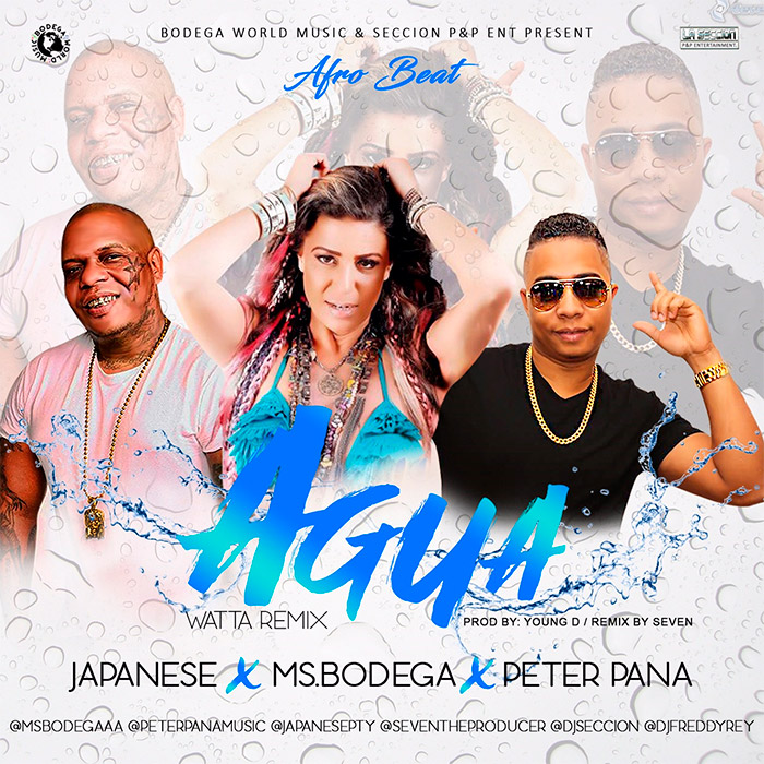 Ms Bodega Ft Peter Pana y Japanese - Agua Watta