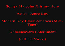 Retro Boy   Malcolm X is My Hero